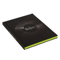 The Beatles No. 1 Singles Colored Edge Journal-Hardcover.  160 Pages.