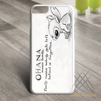 Ohana Means Family   Lilo and Stitch Custom case for iPhone, iPod and iPad