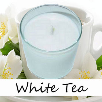White Tea Scented Candle in Tumbler 13 oz