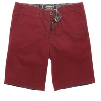 Modern Amusement Indio Rolled Hem Short - Mens Shorts - Red - 36