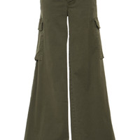 Harrow Stretch-Cotton Twill Wide-Leg Pants | Moda Operandi