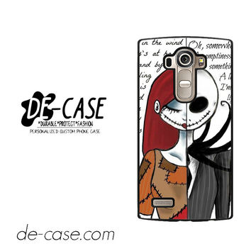 The Nightmare Before Christmas Quotes For LG G4 Case Phone Case Gift  Present YO