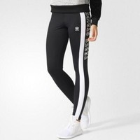 Adidas Print Gym Yoga Sports Running Leggings Pants Trousers Sweatpants