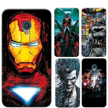 "Deadpool Dead pool Taco Case Cover For Alcatel U5 5.0"" Marvel Avengers Captain America  Charming Painted For Alcatel 5047 5047D 5047Y Phone Case AT_70_6"