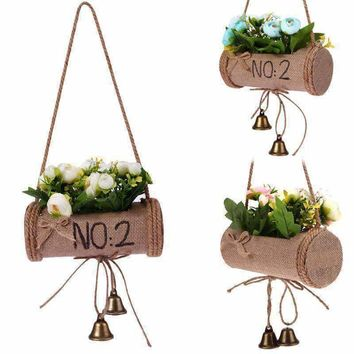 Plants Hanger Vintage Macrame Creative Flower Pot Holder String Hanging Wall Art