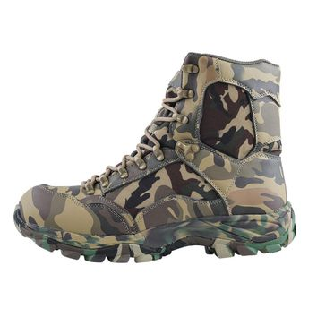 Men's RC Hiking Ankle Boot Hunt Camo Waterproof Jungle Hunt Camo Military Boots