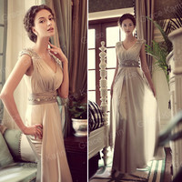Lady's Sweetheart Sexy Wedding Bridesmaid Formal Party Ball Evening Long Dresses