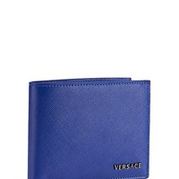 Versace - Saffiano Leather Billfold Wallet