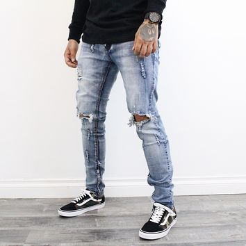 Steph Denim Distressed Jeans