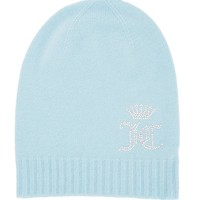 Cashmere Hat With Crystals From Swarovski by Juicy Couture