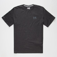 Under Armour Charged Cotton Sportstyle Mens T-Shirt Black  In Sizes