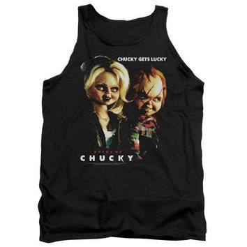 ac NOOW2 Bride Of Chucky - Chucky Gets Lucky Adult Tank