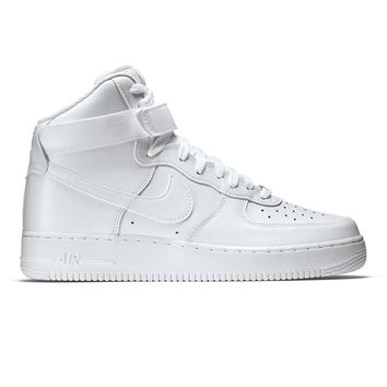 Fashion Online Men's Nike Air Force 1 High '07 Shoe -white