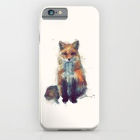 Fox iPhone & iPod Case by Amy Hamilton