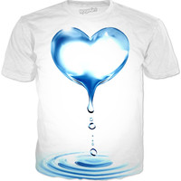 Water Heart T-shirt