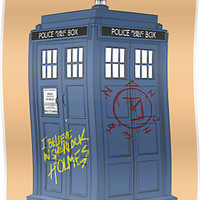 SuperWhoLocked in the TARDIS by PhantomKat813