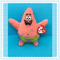 "SpongeBob SquarePants TY PATRICK Star Beanie Baby Collection 7"" Tall c. 2004"