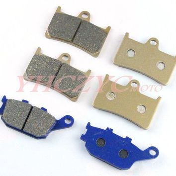 For YAMAHA YZF R6 2003-2009 front and rear brake pads set Motorcycle Parts