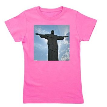 Chris the Redeemer Girl's Tee