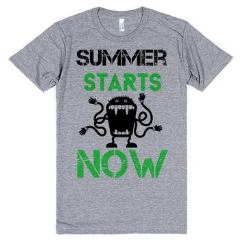 Summer Starts Now | T-Shirt | SKREENED