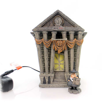 Department 56 House HALLOWEEN TOWN CITY HALL Nightmare Before Christmas 4058118