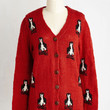 Vintage Inspired Mid-length Long Sleeve Flippers and Doers Cardigan by ModCloth