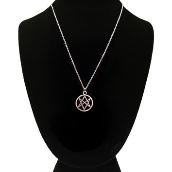 Unicursal Hexagram Necklace