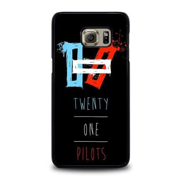 twenty one pilots symbol samsung galaxy s6 edge plus case cover  number 1