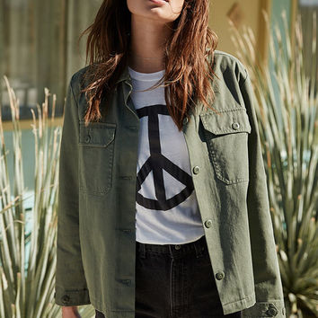 LA Hearts Peace Sign Crew Neck T-Shirt at PacSun.com