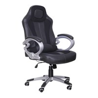 Adjustable Stylish Racing Gaming Office Chair Computer Desk Chair With Reclining Function