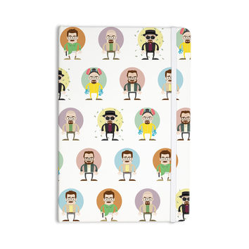 "Juan Paolo ""The Stages of Walter White"" Breaking Bad Everything Notebook"
