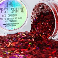 Gypsy Shrine Red Diamond Glitter