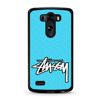 Stussy Raps St?ssy Surfware Clothing LG G3 Case