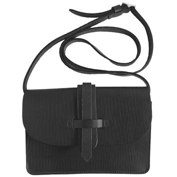 Russo Mini Satchel in Black by M.Hulot