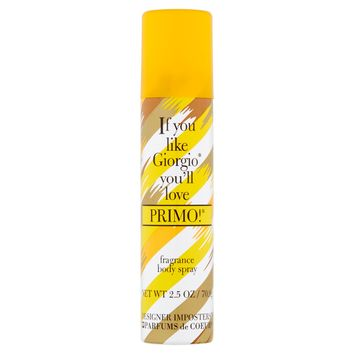 Primo for Women by Designer Imposters Fragrance Body Spray 2.5 oz