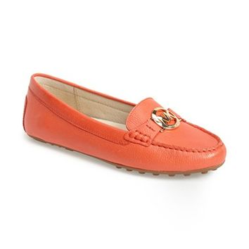 Women's MICHAEL Michael Kors 'Molly' Leather Loafer,
