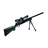 Leapers Gen 5 Accushot Comp Sniper Airsoft Rifle Black