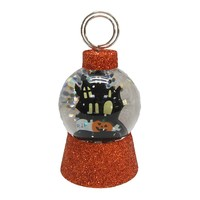 Halloween Glitter Snowglobe 1-Photo Clip Decor