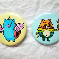 Bravest Warriors 1.5 Inch Button Set