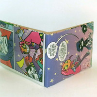 Comic Book Wallet// Teen Titans Go// Starfire and Raven