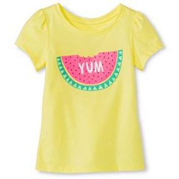 57429bf6e Toddler Girls' Watermelon Short Sleeve Graphic Tee Yellow - Circo™ : Target
