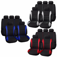 2017 New Vehicle Cover Universal Car Seat Covers Complete Seat Crossover Automobile Interior Accessories Cover Full For Car Care