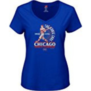 "Chicago Cubs 1908-2016 ""The Curse Ends"" women's T-Shirt"