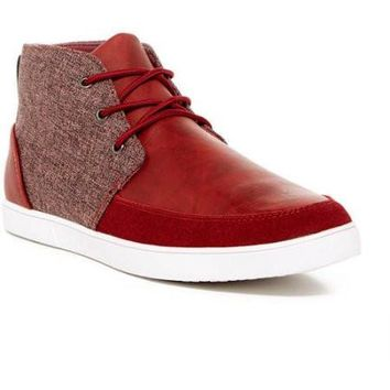 Fashion Contrast Chukka Sneakers
