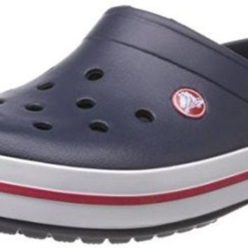 DCCK8BW crocs Unisex Crocband Clog Navy 10 US Men / 12 US Women