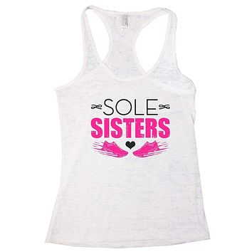 SOLE SISTERS Burnout Tank Top By Womens Tank Tops