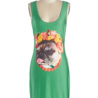ModCloth Quirky Mid-length Tank top (2 thick straps)
