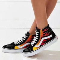 Vans X THRASHER Men and women skateboard shoes casual shoes