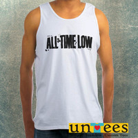 All Time Low Logo Clothing Tank Top For Mens