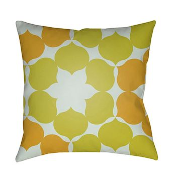 Moderne Pillow Cover - Mustard, Sea Foam, Bright Yellow - MD045